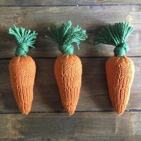 Organic Carrot Baby Rattle