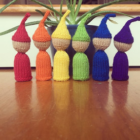 Little Rainbow Gnomes
