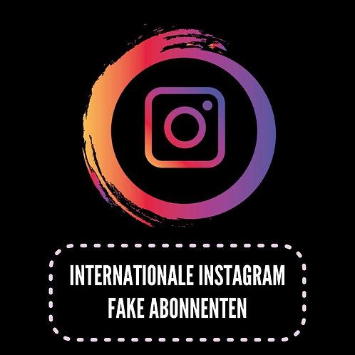 Internationale Instagram Fake Abonnenten
