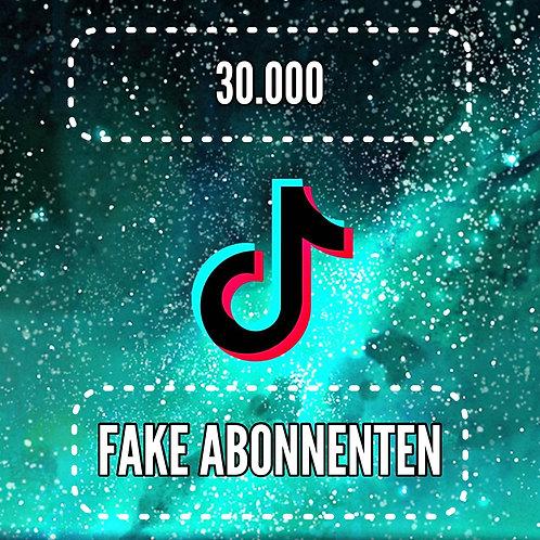 30.000 TikTok Abonnenten