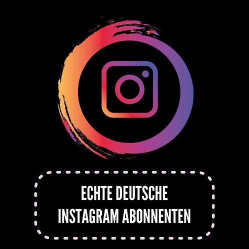 Echte Deutsche Instagram Abonnenten