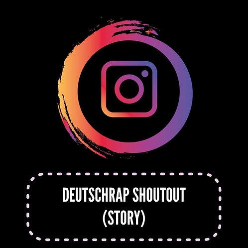 Premium Deutschrap Shoutsouts (Story) 24H