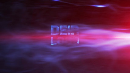 3D INTRO #01 BLAUER PANTHER