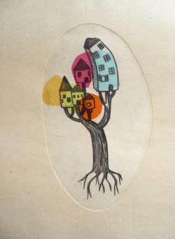 arbre aux maisons