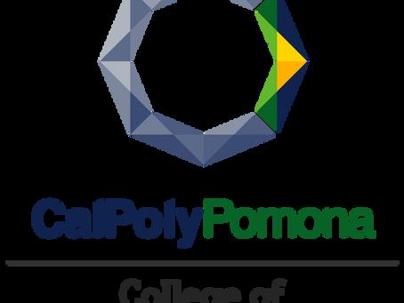 Heading to Cal Poly Pomona!