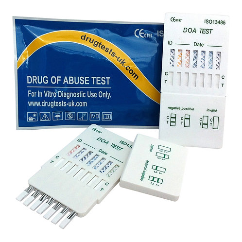 2 x 7 in 1 Drug Test Kit