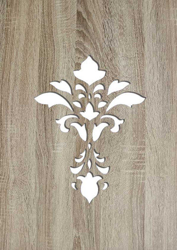 Holz Ornament Cutout