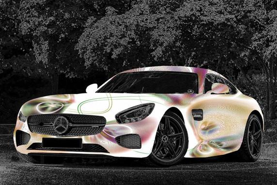 White Metallic Avantgarde 1