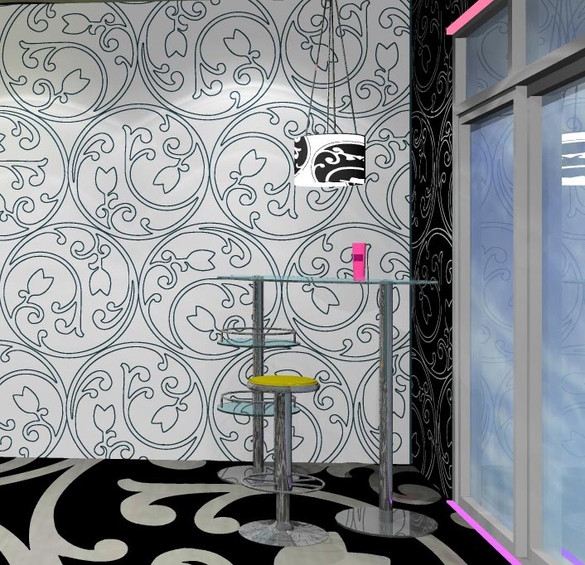 Gestaltung von Mobiliar / Dekoration