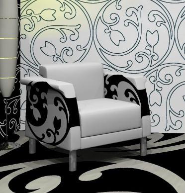 Flächendesign für Leder- oder Textildruck