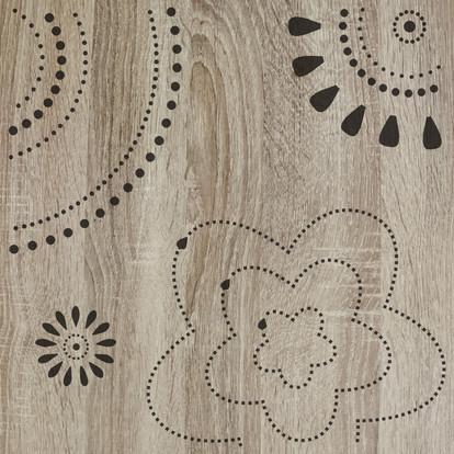 Lasergravur Floral