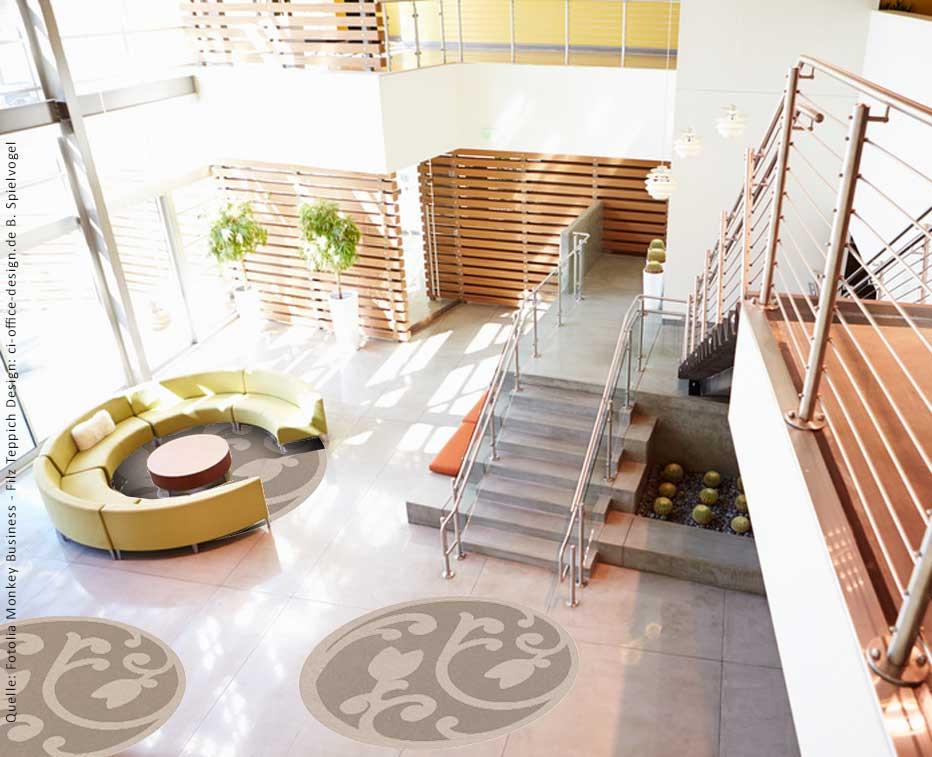 Teppichdesign für Foyer