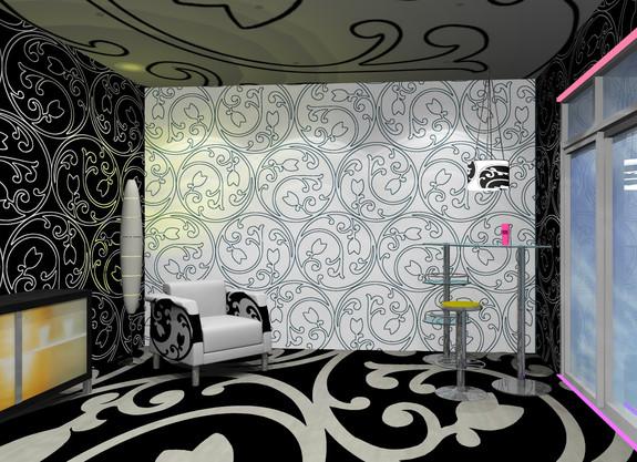 Digitaldruck Design für Wand / Boden / Decke