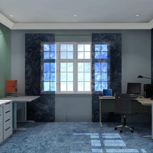 Denim Design Home Office