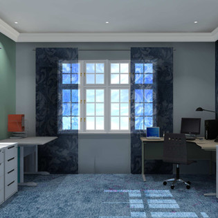 Denim Design Home Office