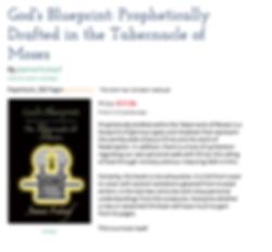 God' Blueprint Joanna Fruhauf tabernacle of Moses