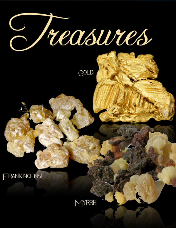 Gold, Frankincense and Myrhh