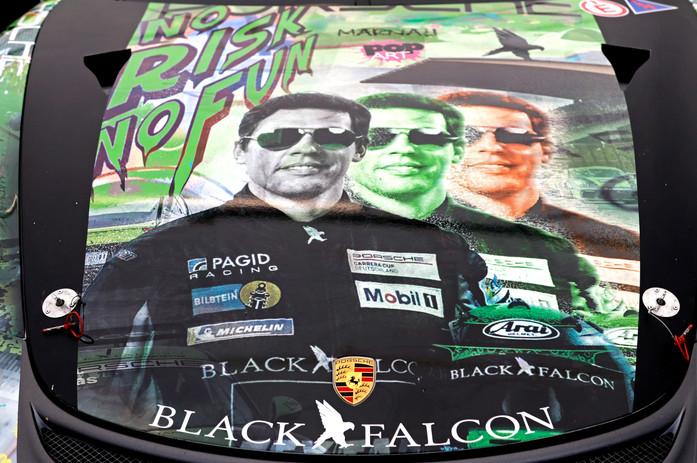 Carlos Rivas Black Falcon