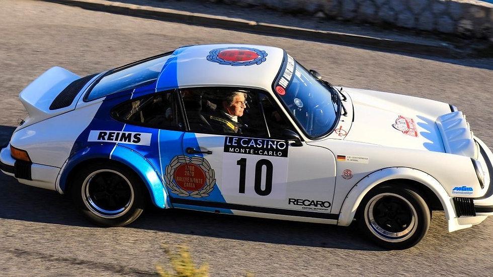 WRFL02 Porsche 911 SC 1979 Historic Rallye Monte Carlo 2020 Tribute 1980 Winner