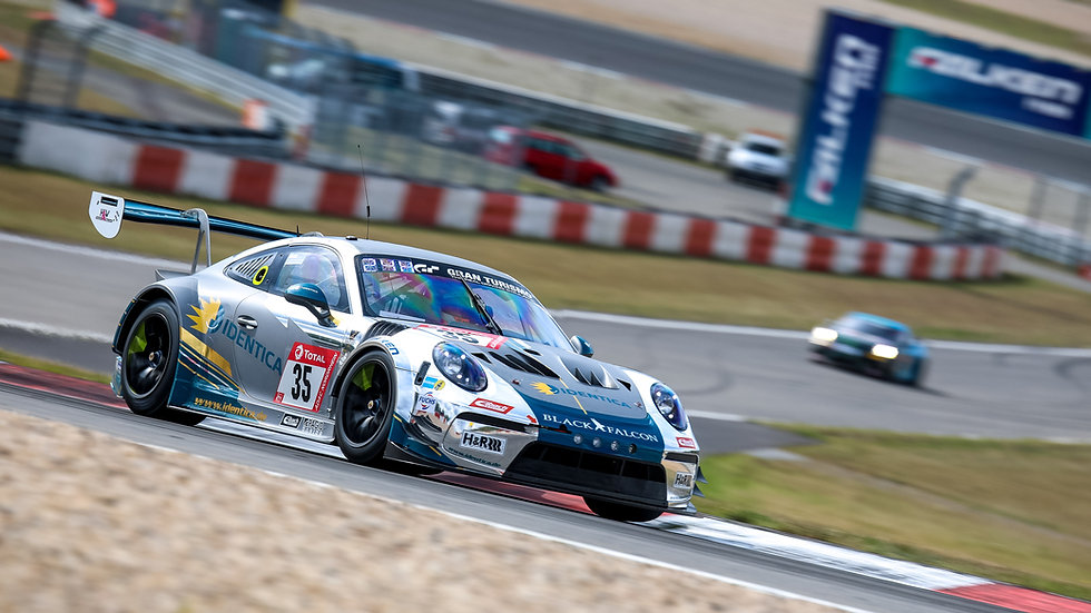 SL004 Porsche 911 GT3 Cup MR Black Falcon IDENTICA 24H Nürb. 2020 Carlos Rivas