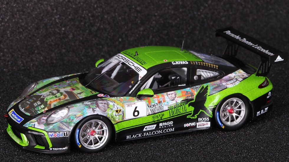 SL001 Porsche 911 GT3 Cup Black Falcon Winner ProAm-Class 2020 Carlos Rivas