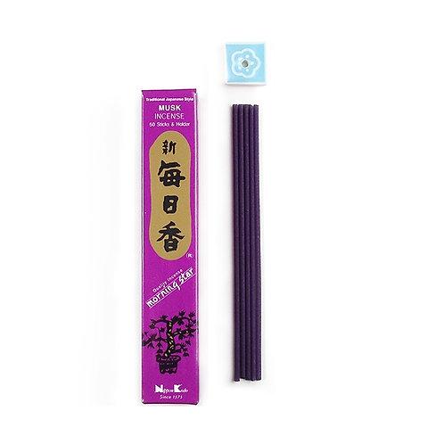 Morning Star Incense Sticks and Holder