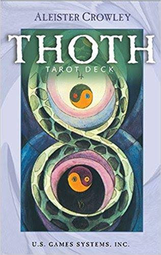 Aleister Crowley Thoth Large Tarot Deck