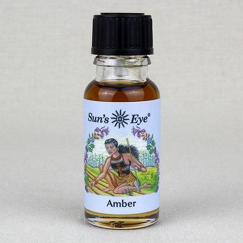 Amber Oil by Sun's Eye