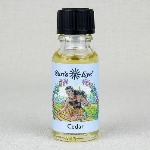 Cedar Oil by Sun's Eye