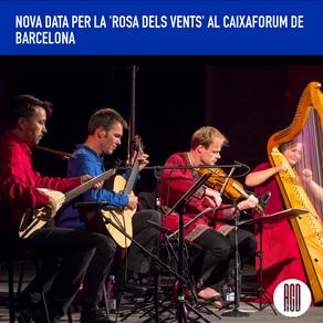"""Nova data per """"La Rosa dels Vents"""" de Hirundo Maris al Caixaforum de Barcelona"""