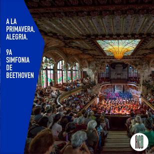 """A la primavera """"Alegria"""". 9a simfonia de Beethoven."""