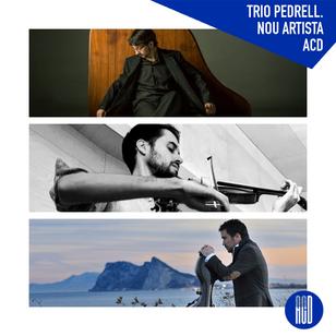Trio Pedrell. Nou artista ACD