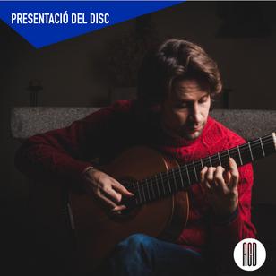 """Presentació del CD """"Impressions Íntimes"""" de Bernat Padrosa"""