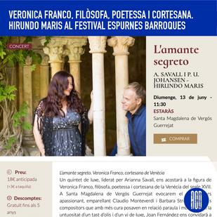 Veronica Franco, poetessa, filòsofa i cortesana