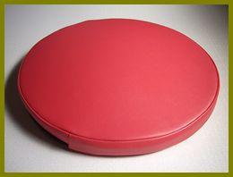 レザー座布団・業務用クッションのサイズオーダー(円形座布団)
