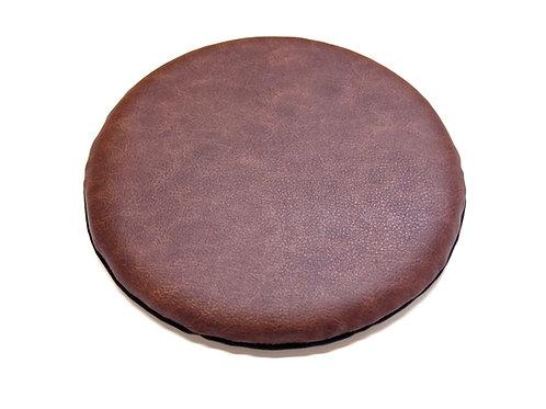 円形PVCレザー座布団<薄型・椅子用> (直径30センチ・柄C)