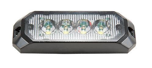 Beskrivning:Blixtljus, LED Orange med klar lins