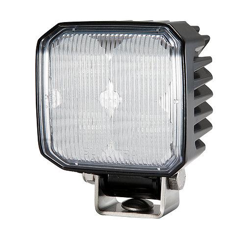 Liten kvadratisk och kraftfull LED arbetslampa/backljus