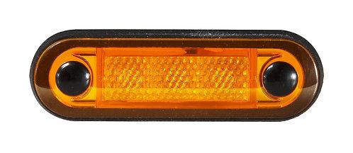 LED positionslykta orange med orange lins