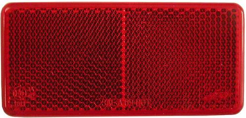Reflex, självhäftande 94X44mm röd