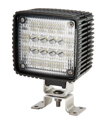 Stor kvadratisk och kraftfull Proffs LED arbetslampa
