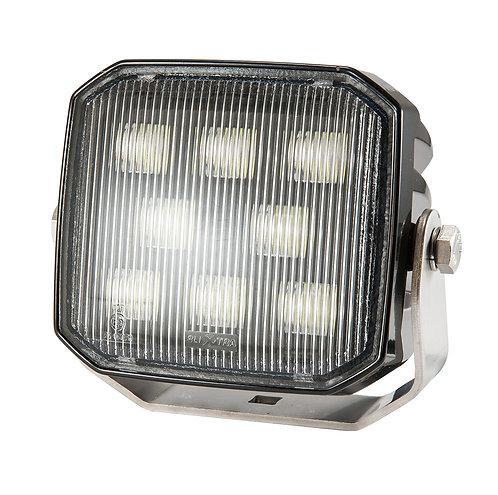 Kvadratisk LED arbetslampa Bred 2400 lm