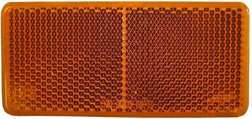 Reflex, självhäftande 94X44mm orange