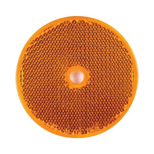 Reflex rund orange hål för skruv montering
