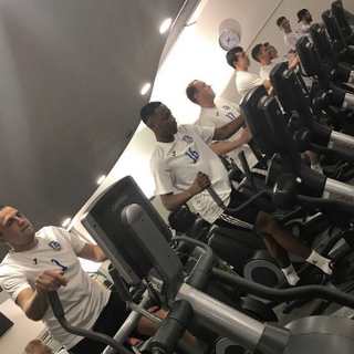 Training is important! Team bonding at Nuffield Heath Gym