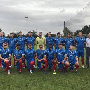 1st Team photo in new 2017-2018 kit 🔴🔵