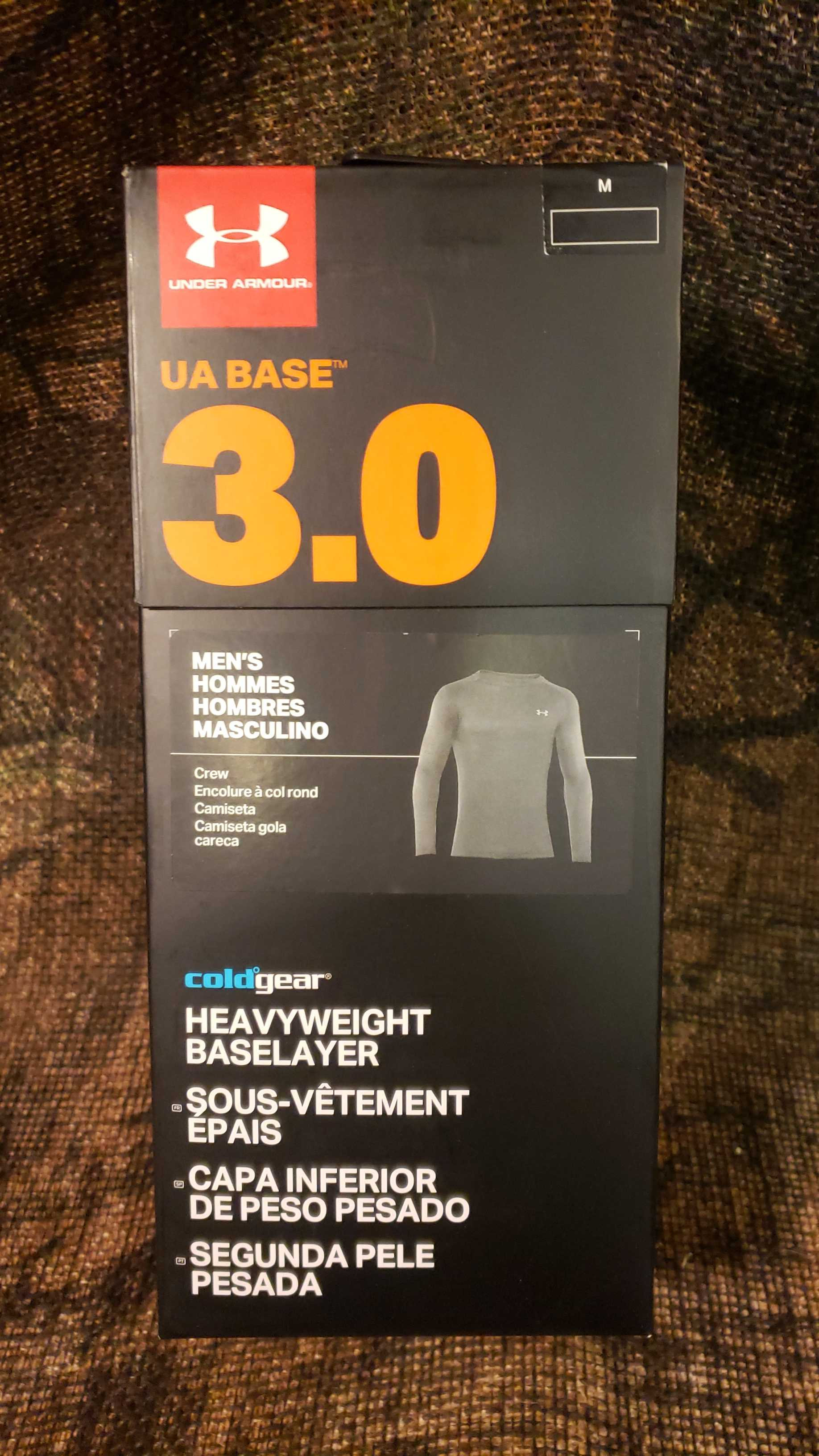 639aa06f8aba13 Under Armour Coldgear Base 3.0 Crew