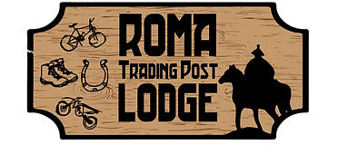 Roma Trading Post Lodge Logo