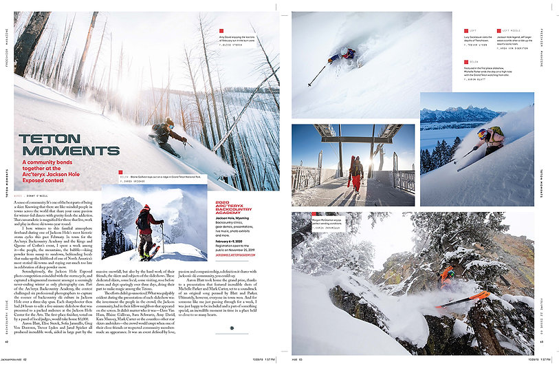 Teton Moments - Backcountry Issue