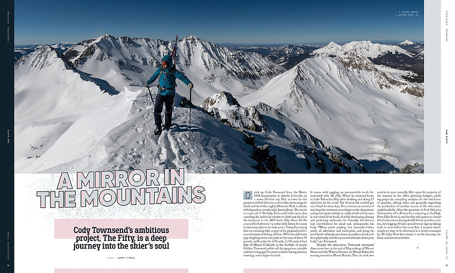 Cody Townsend - Backcountry Issue